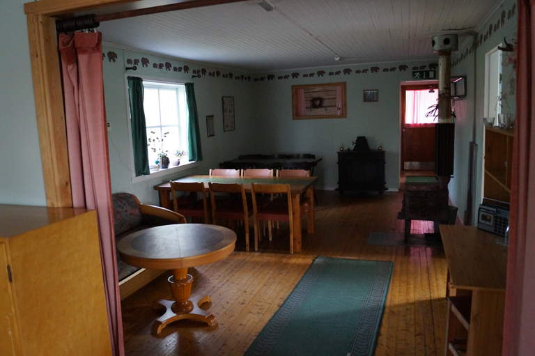 inside the holiday home in Reivo nature reserve